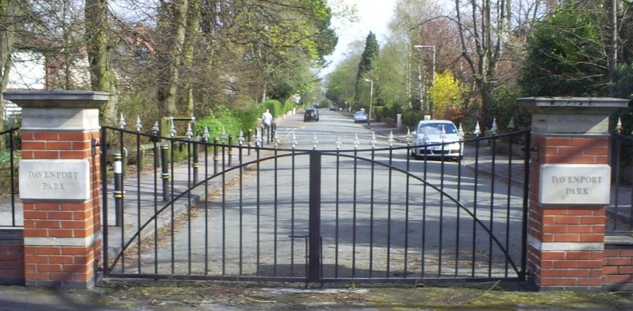 Bramhall Road Gates